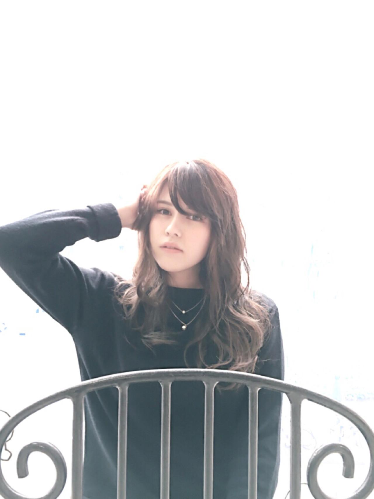 ナチュラル 大人女子 ベージュ フェミニン ヘアスタイルや髪型の写真・画像 | カラーリスト・YuuKi Sekimoto / wherever