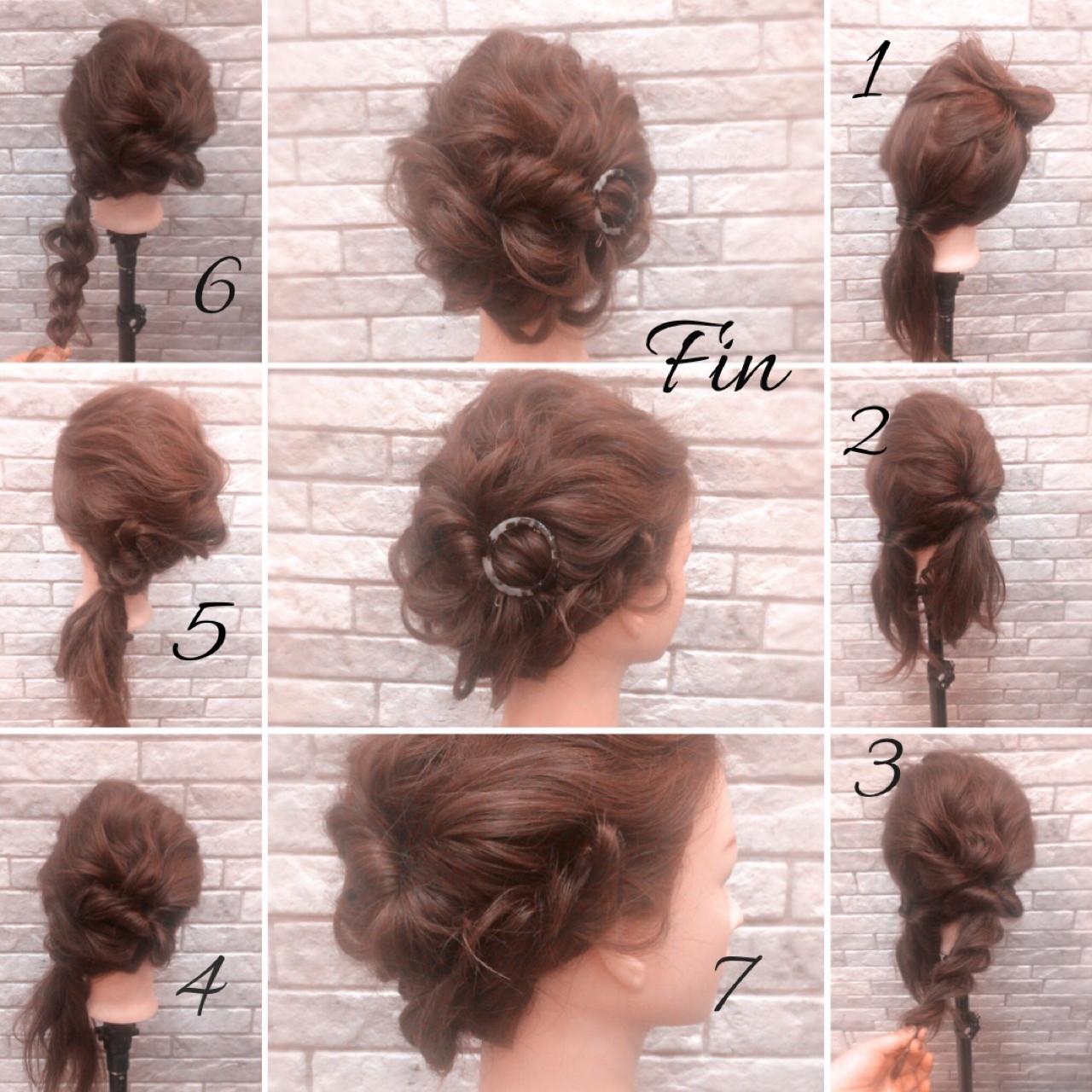 ミディアム ブライダル 結婚式 デートヘアスタイルや髪型の写真・画像