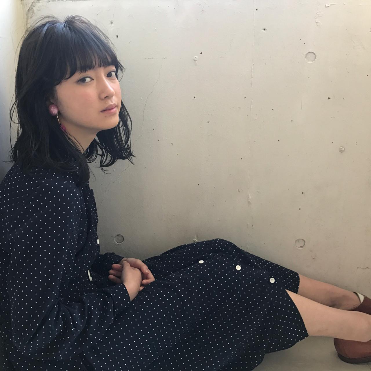 大人女子 小顔 ニュアンス 色気 ヘアスタイルや髪型の写真・画像 | 小西敬二郎 / Heartim