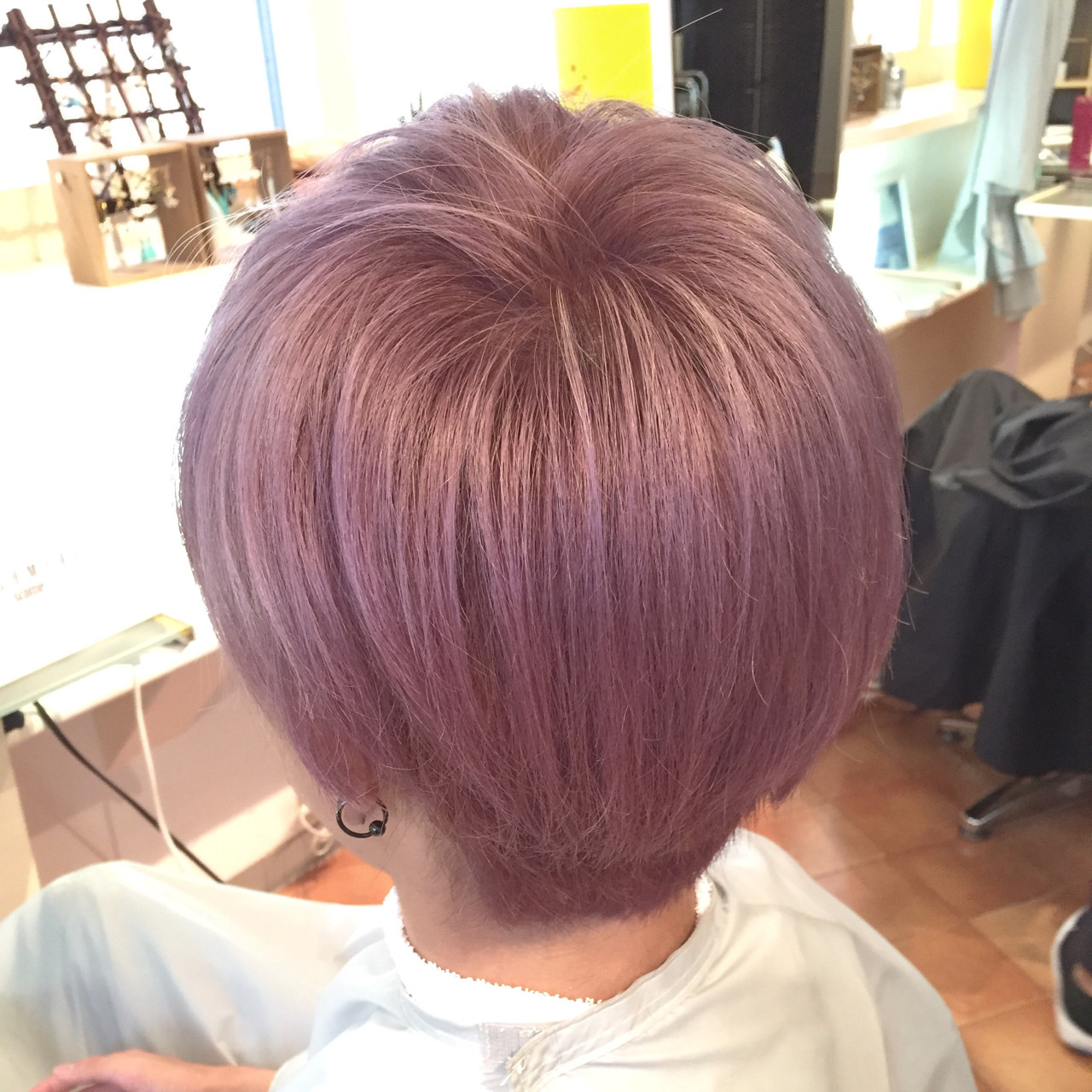 ラベンダーアッシュなあなたの髪色を旬に♪うっとり色落ちを楽しもう 鶴岡 純 / RUUP