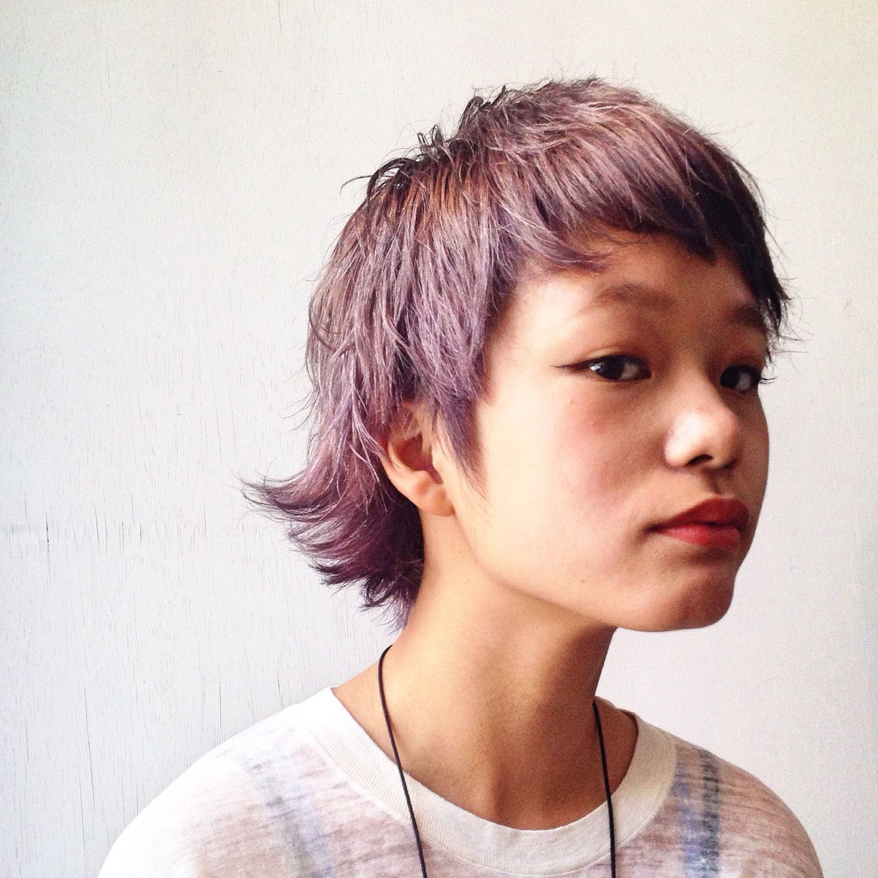 モード ウルフカット ショート 外ハネ ヘアスタイルや髪型の写真・画像 | 井上 拓耶 / know hair studio