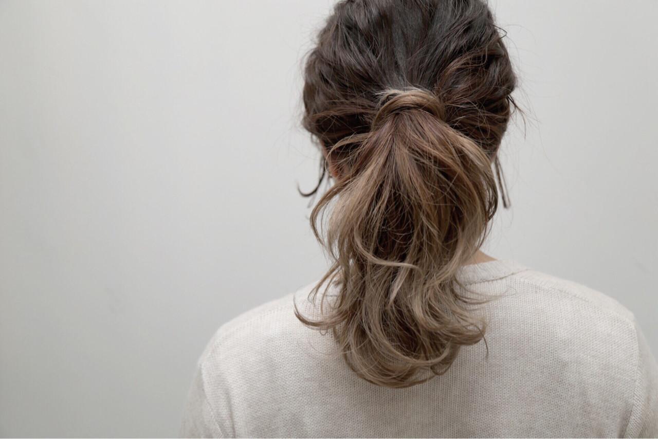 ストリート グラデーションカラー ダブルカラー 外国人風ヘアスタイルや髪型の写真・画像