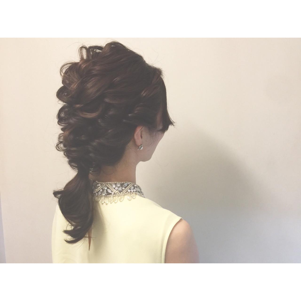 ショート ヘアアレンジ ゆるふわ 黒髪 ヘアスタイルや髪型の写真・画像 | ヤマキタ トシキ Neolive / Neolive CiroL.