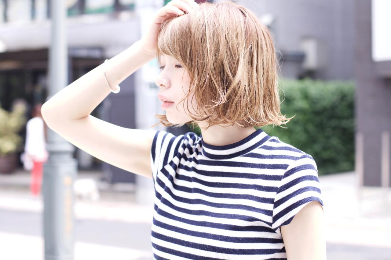 ハイライト 大人かわいい アッシュ ストリート ヘアスタイルや髪型の写真・画像   黒澤貴裕 / SORA