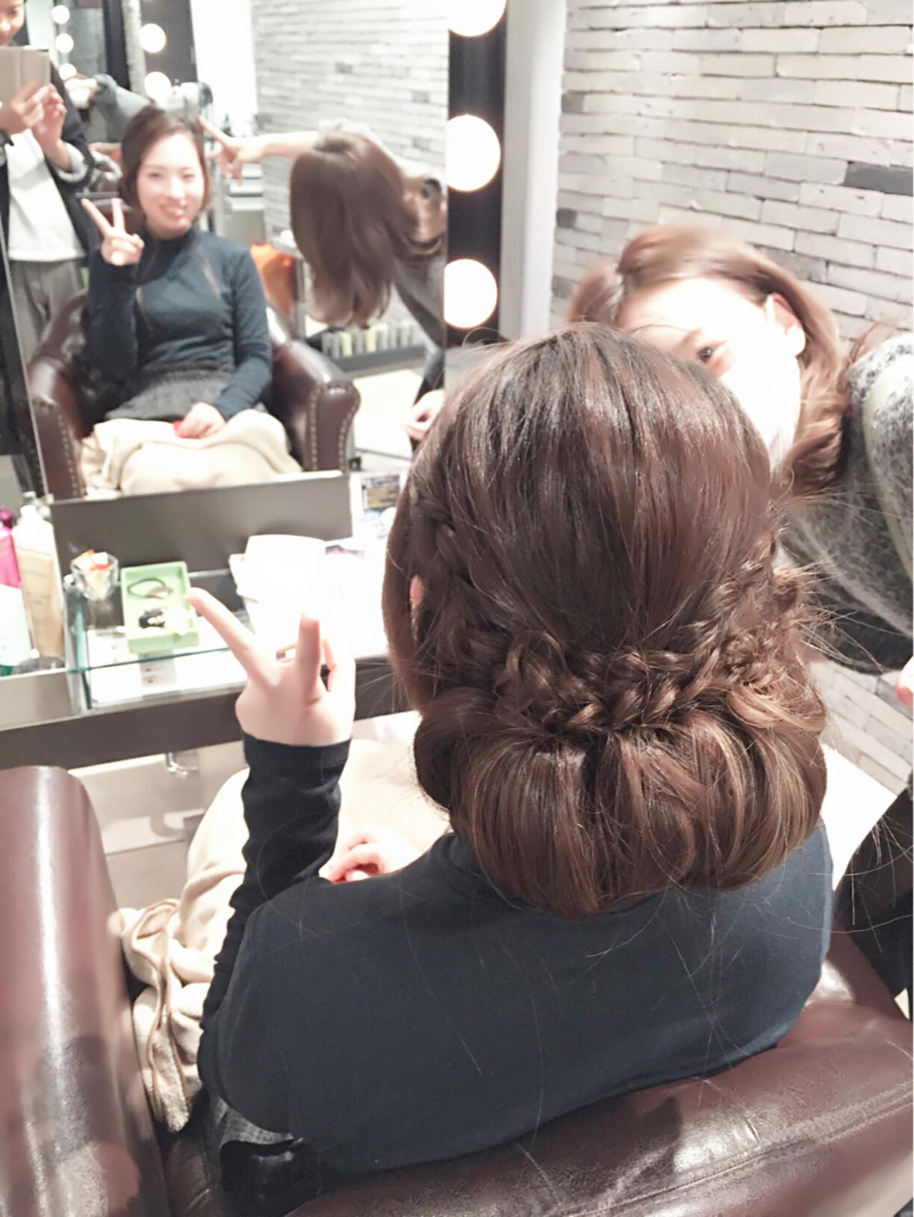 簡単ヘアアレンジ ヘアアレンジ ゆるふわ 大人かわいい ヘアスタイルや髪型の写真・画像 | 稲野 剛 / pikaichi 熊本上通り店