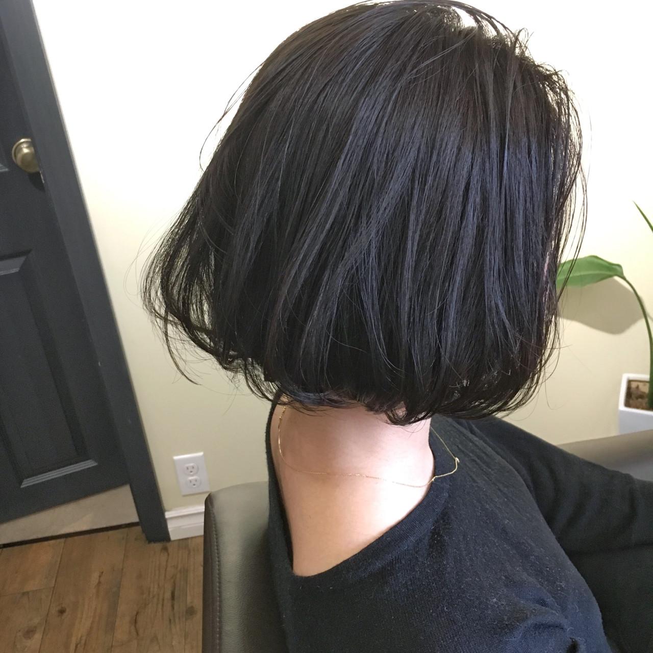 ニュアンス デート 黒髪 ナチュラルヘアスタイルや髪型の写真・画像
