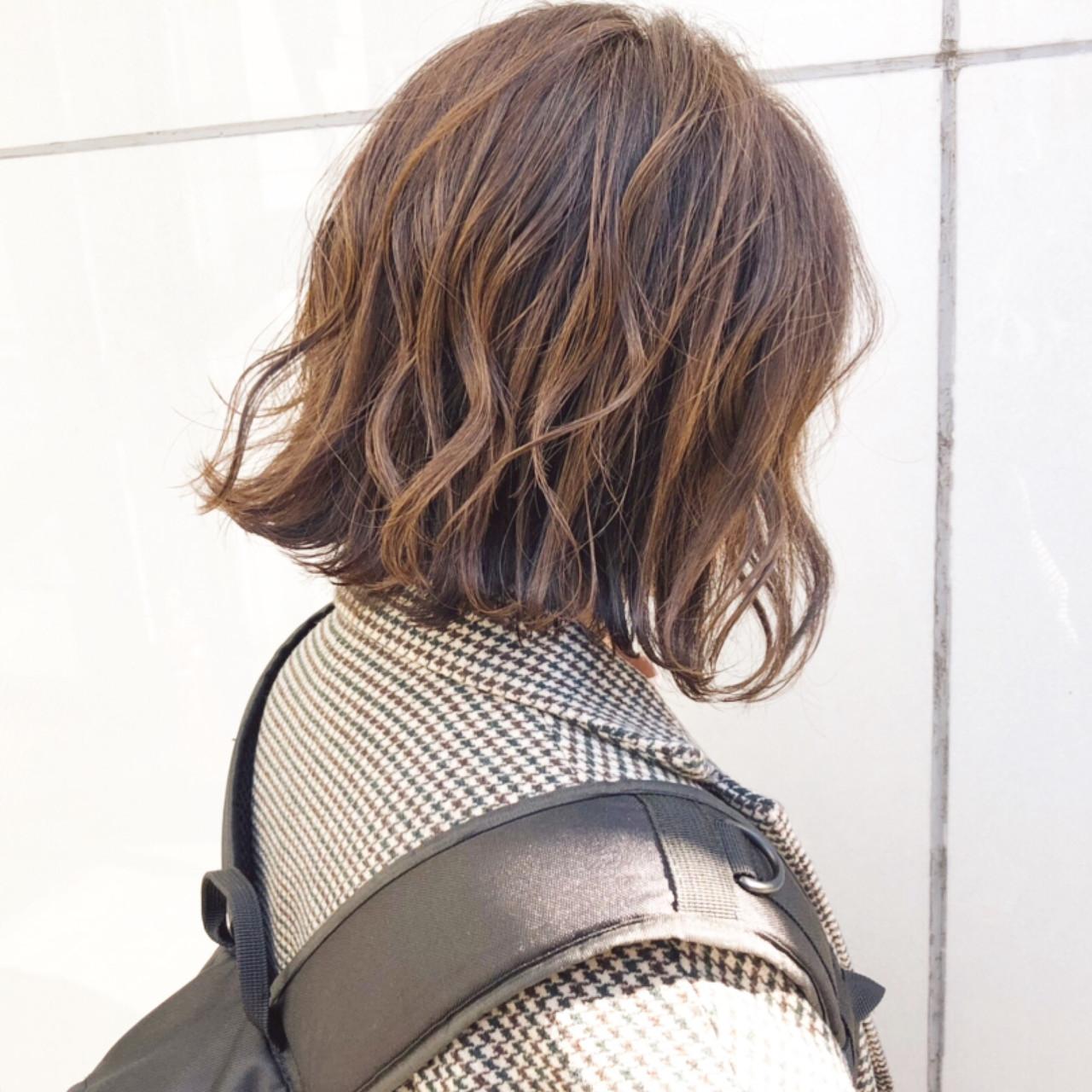ストリート パーマ ヘアアレンジ デート ヘアスタイルや髪型の写真・画像 | 『ボブ美容師』永田邦彦 表参道 / send by HAIR