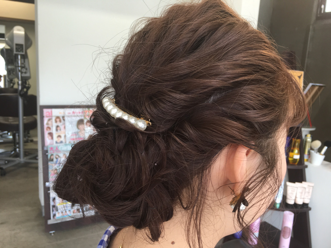 ゆるふわ ショート 外国人風 ミディアム ヘアスタイルや髪型の写真・画像 | komatsu yutaka / HAIR MAKE  Lutte