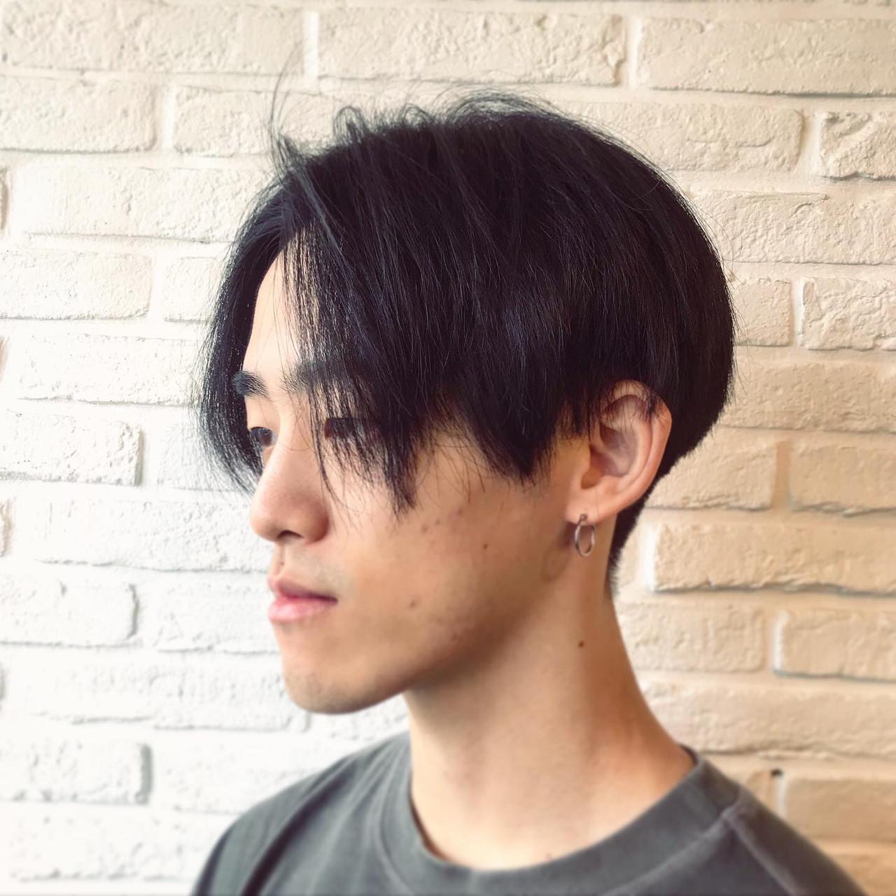 メンズ ショート メンズショート メンズカラー ヘアスタイルや髪型の写真・画像 | 小川 敏輝 / Johnny MEN 高田馬場店
