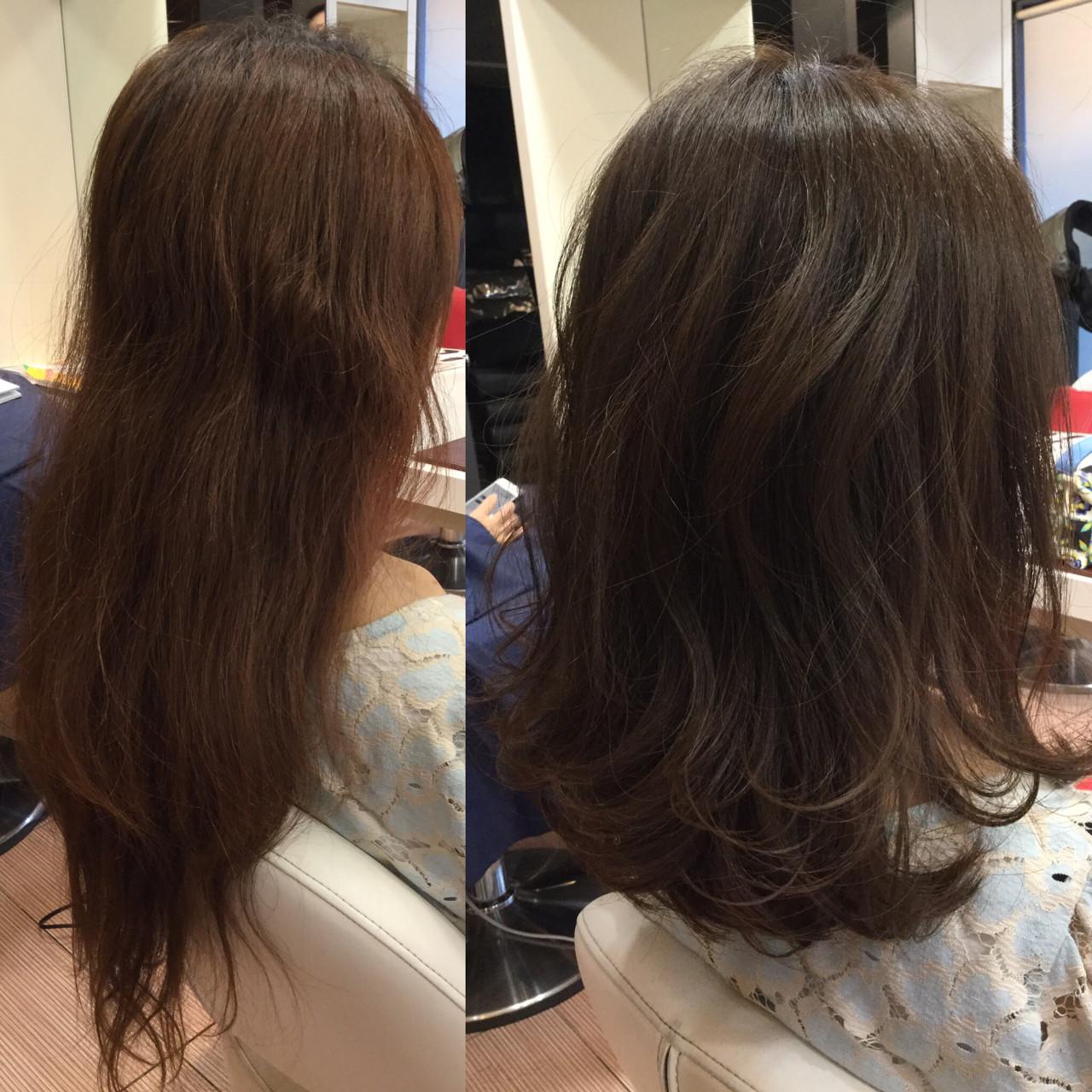 雨の日 アンニュイ リラックス ミディアム ヘアスタイルや髪型の写真・画像 | APHRODITE 銀座 猿山将広 / APHRODITE 銀座
