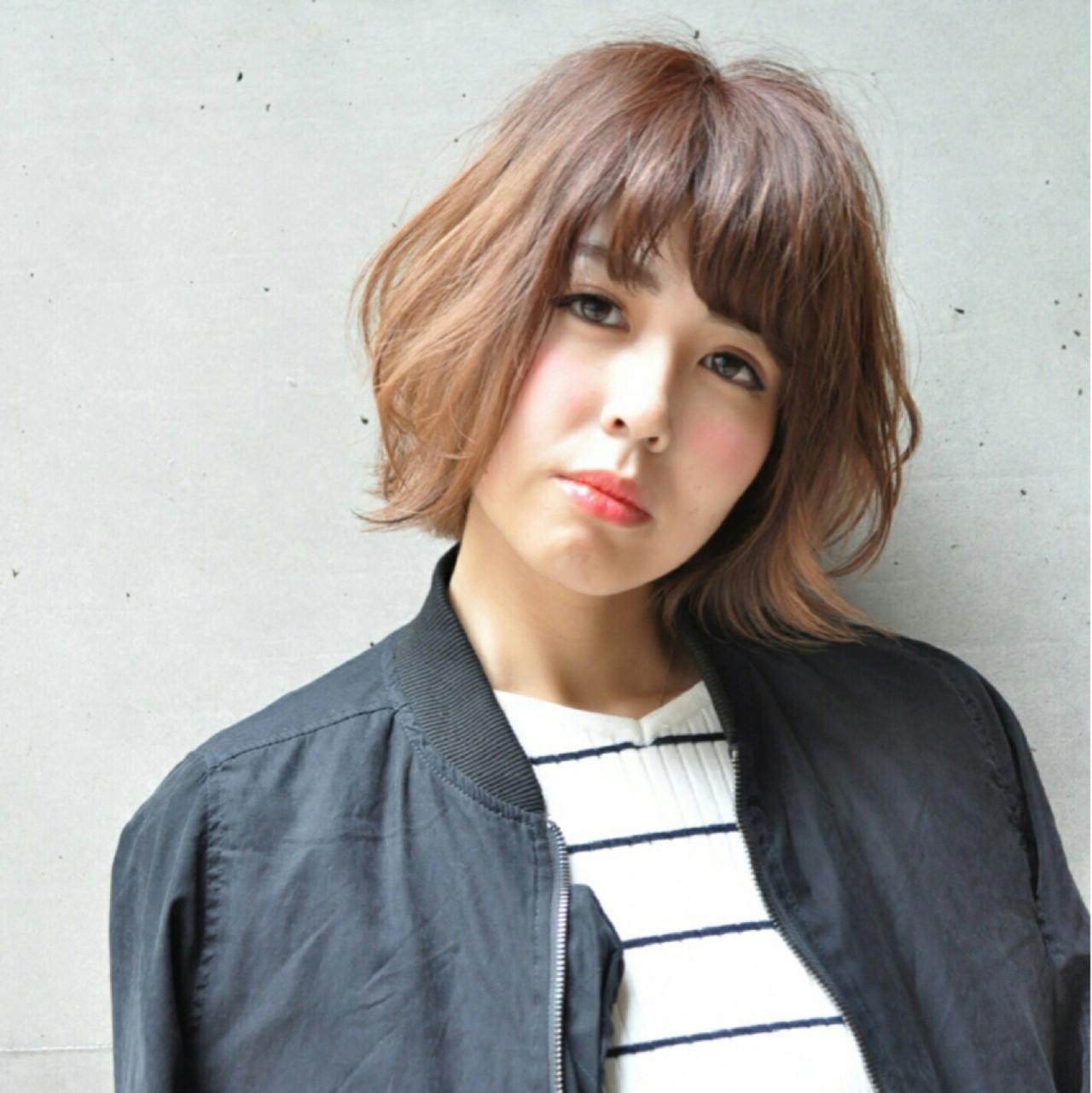 色気 ストリート 大人かわいい 小顔ヘアスタイルや髪型の写真・画像