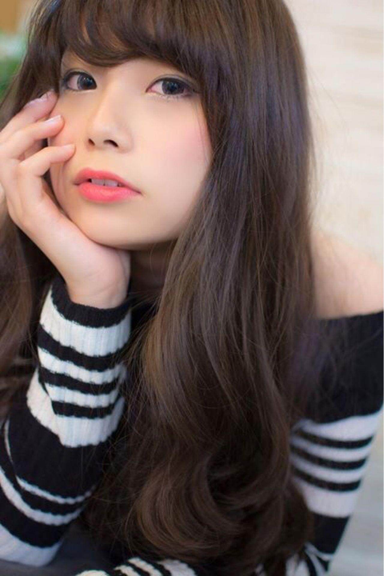 モテ髪 ロング 大人かわいい ウェーブ ヘアスタイルや髪型の写真・画像   田渕 英和/vicushair / vicushair