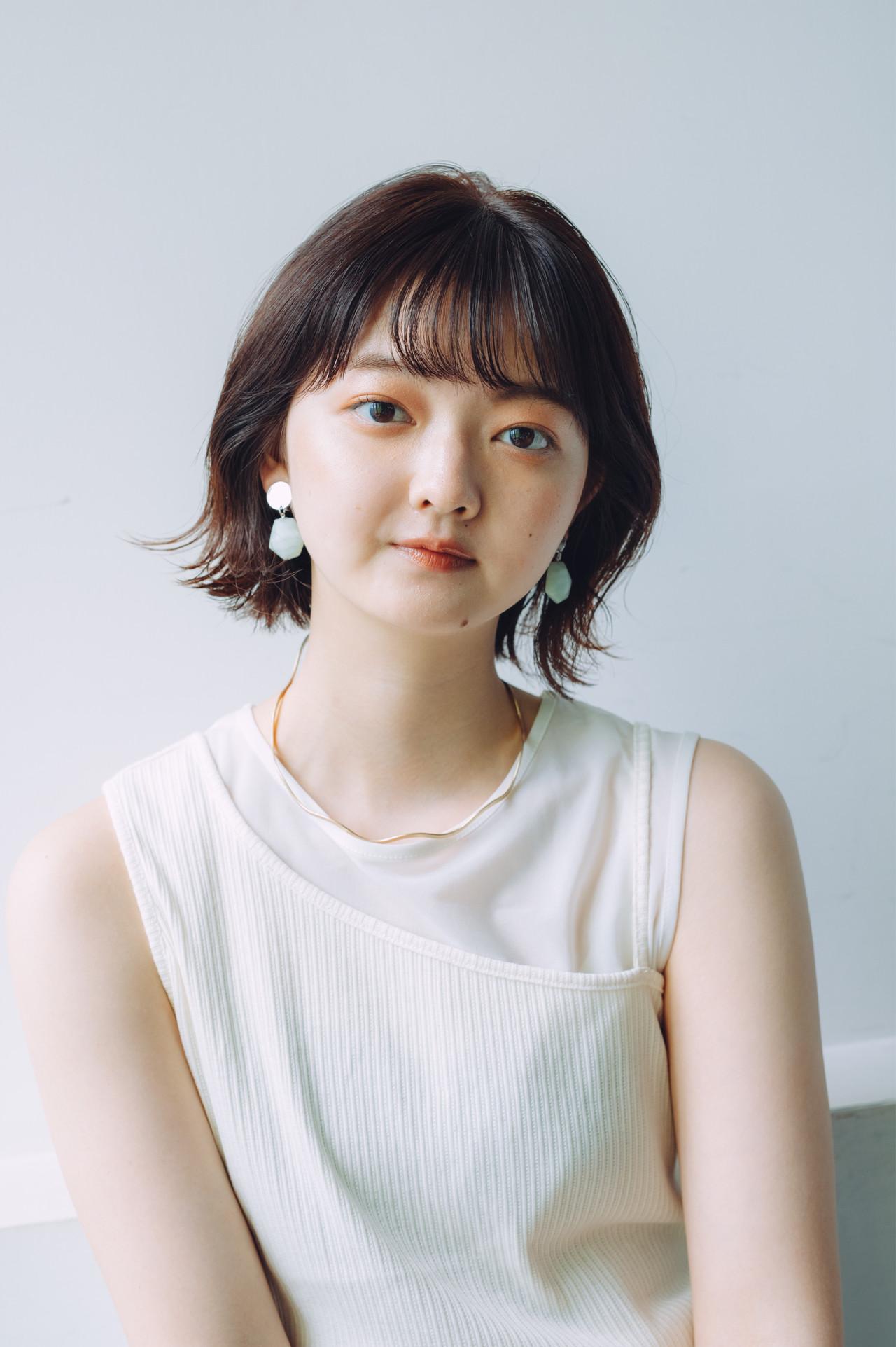 ボブ ボブ モテボブ ミニボブ ヘアスタイルや髪型の写真・画像   児玉善央 / GARDEN harajuku