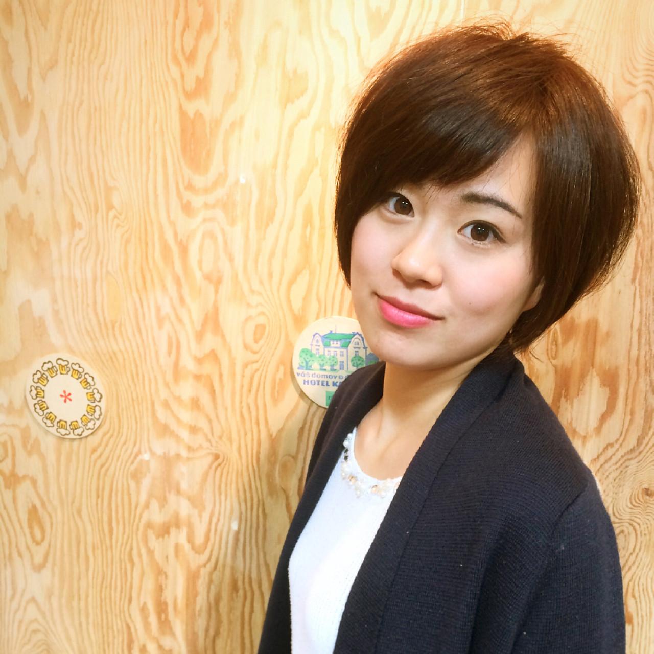 ゆるふわ ナチュラル フェミニン 黒髪 ヘアスタイルや髪型の写真・画像 | 徳田勝義 / ku-to南浦和