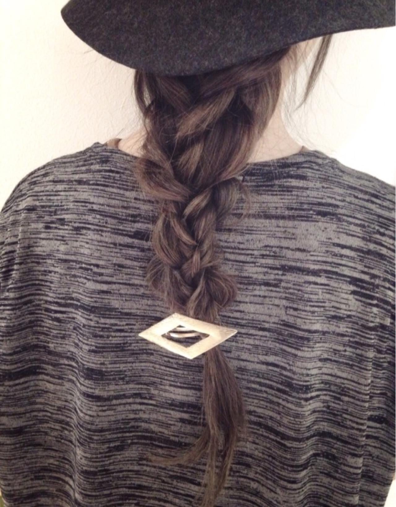 ロング ヘアアレンジ 簡単ヘアアレンジ ショート ヘアスタイルや髪型の写真・画像 | kanako / atelier NooK アトリエヌーク