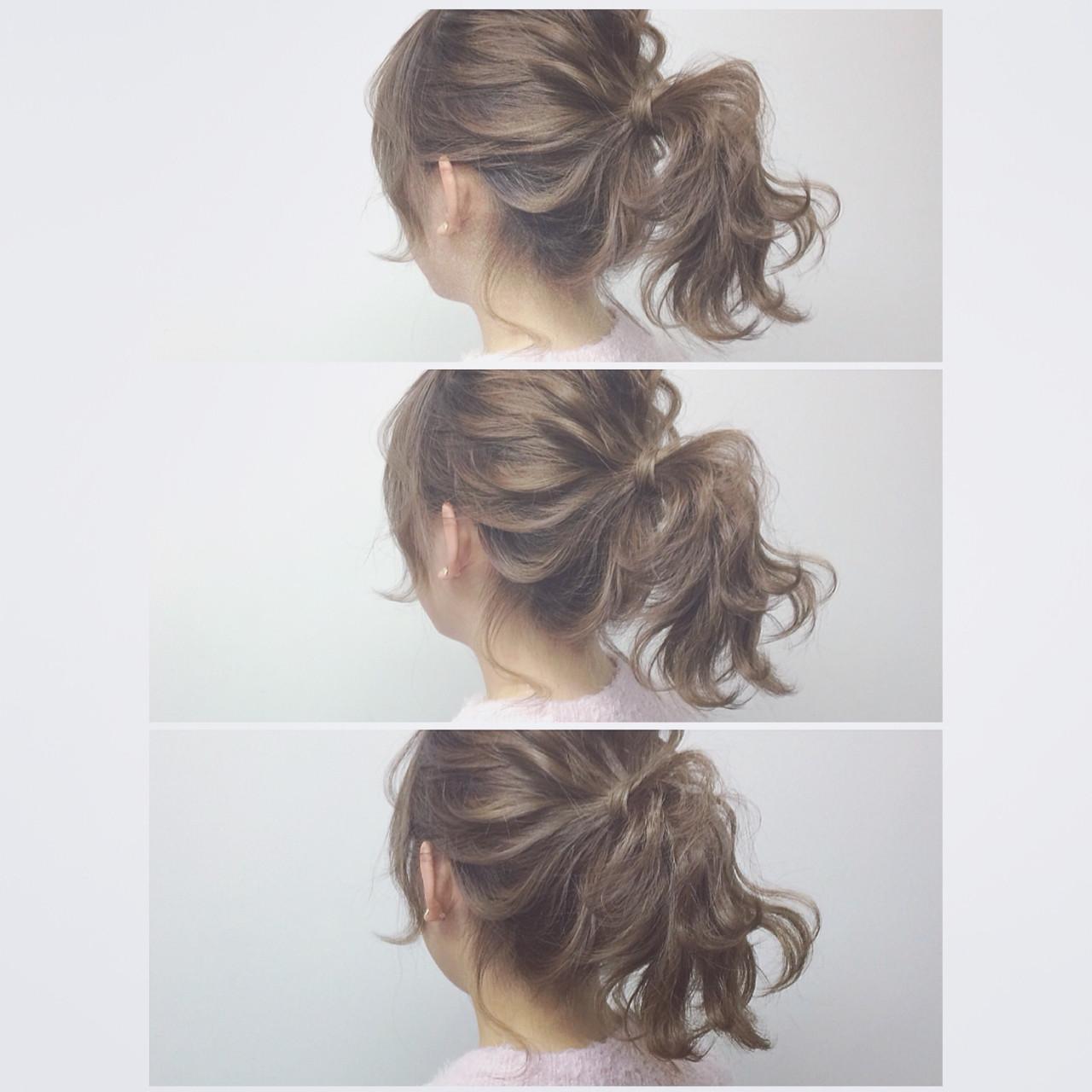 ナチュラル ショート ミディアム 大人かわいい ヘアスタイルや髪型の写真・画像 | YUJI / LIICHI / LIICHI (リイチ)