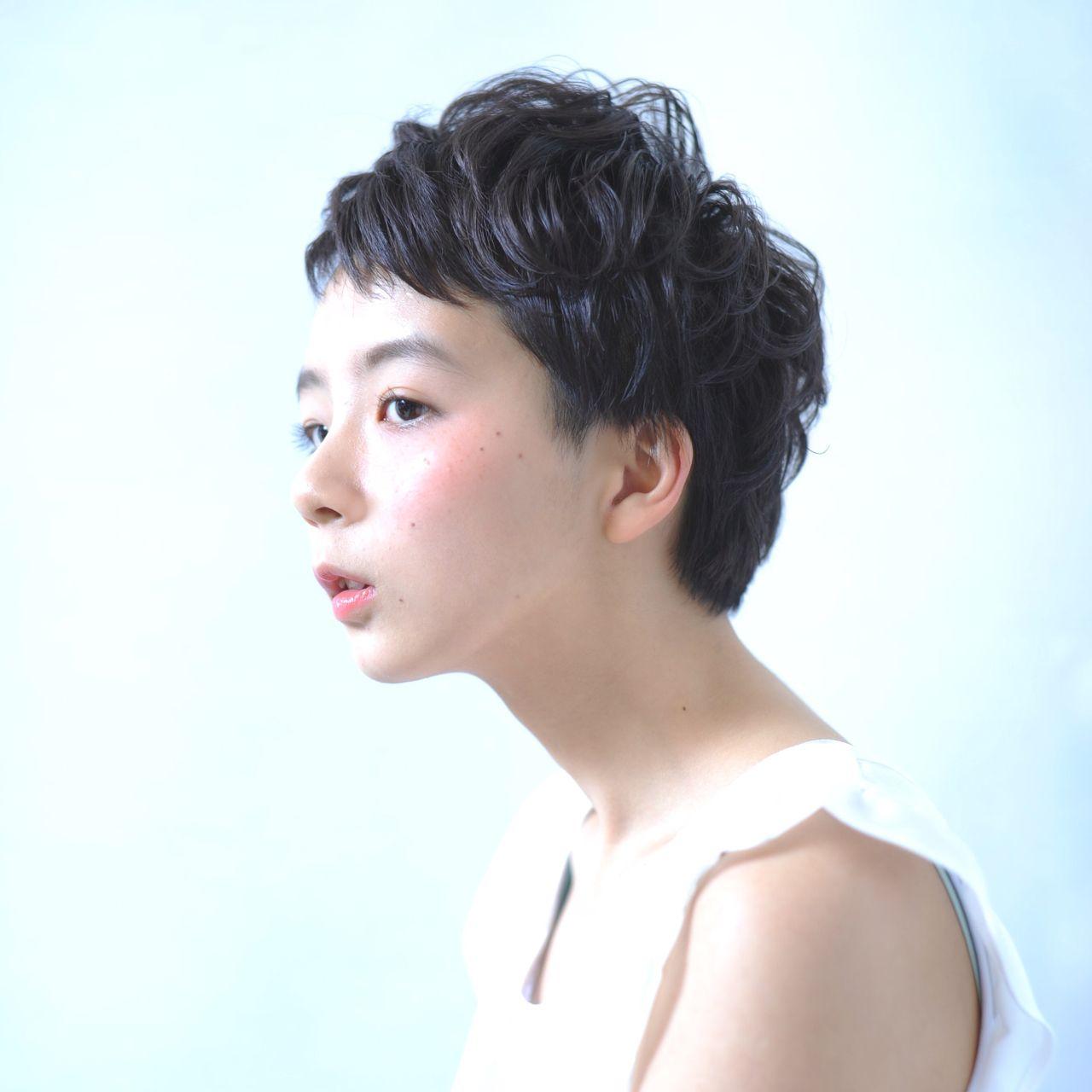 黒髪ベリーショートの魅力とは。 川端梨紗