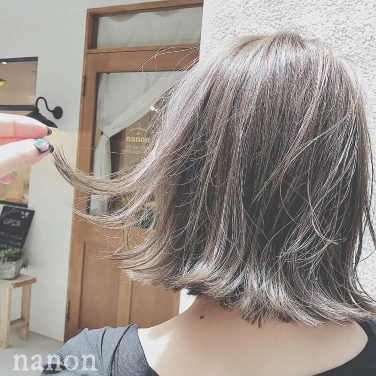上品 ハイライト 外国人風 夏 ヘアスタイルや髪型の写真・画像   浦川由起江 / nanon