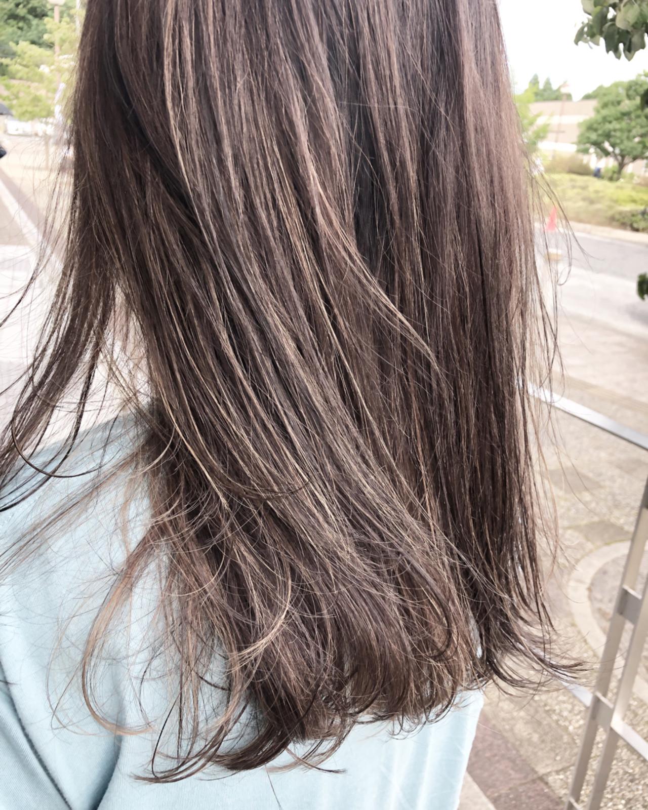 ハイトーン セミロング ブリーチ 外国人風カラー ヘアスタイルや髪型の写真・画像 | 松本 忠晴 / mixjam+Musee