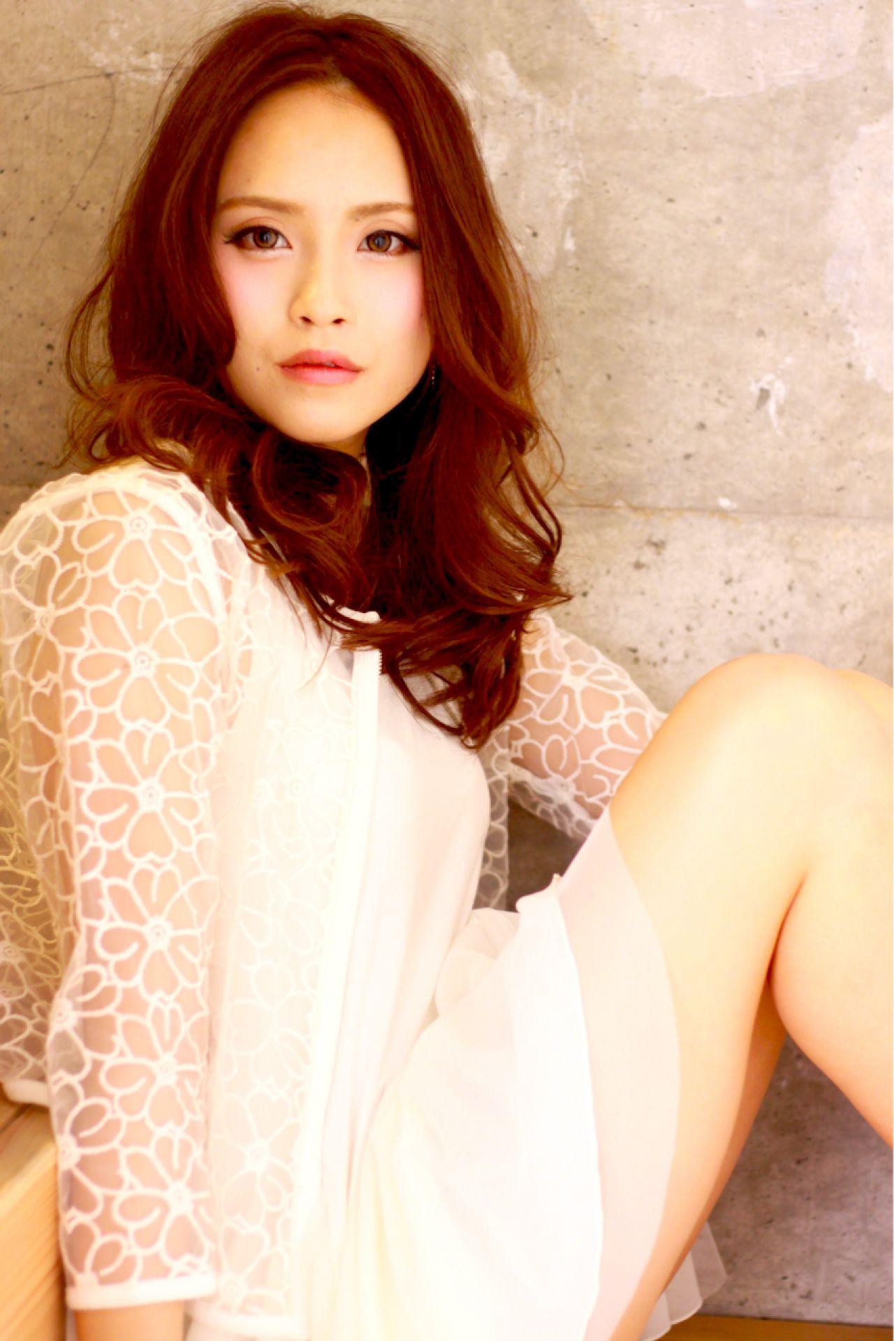 かっこいい フェミニン モテ髪 セミロング ヘアスタイルや髪型の写真・画像   天野 靖大 / Pacific Dazzle (パシフィックダズール) Kobe West
