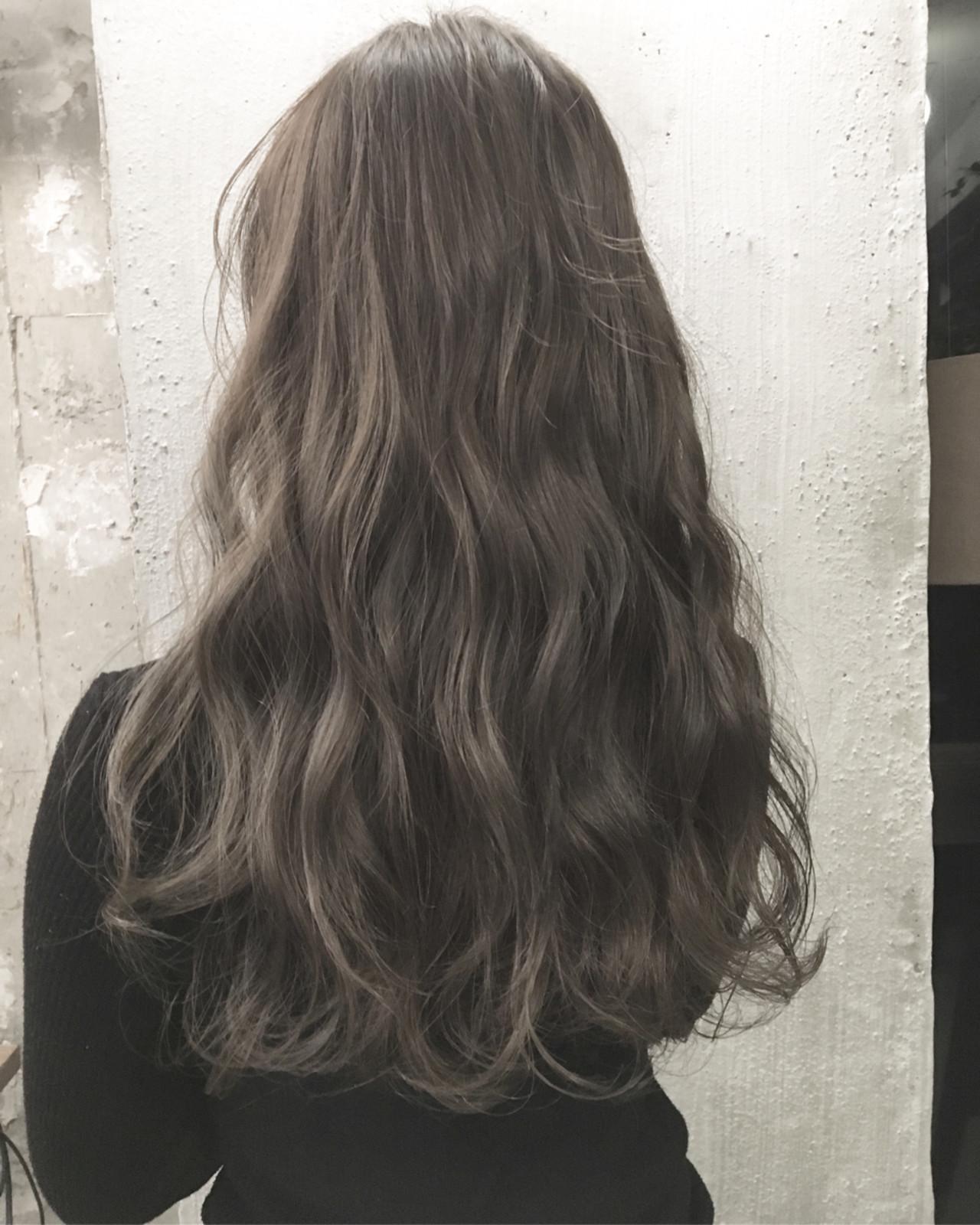 トレンド ロング 透明感 暗髪ヘアスタイルや髪型の写真・画像
