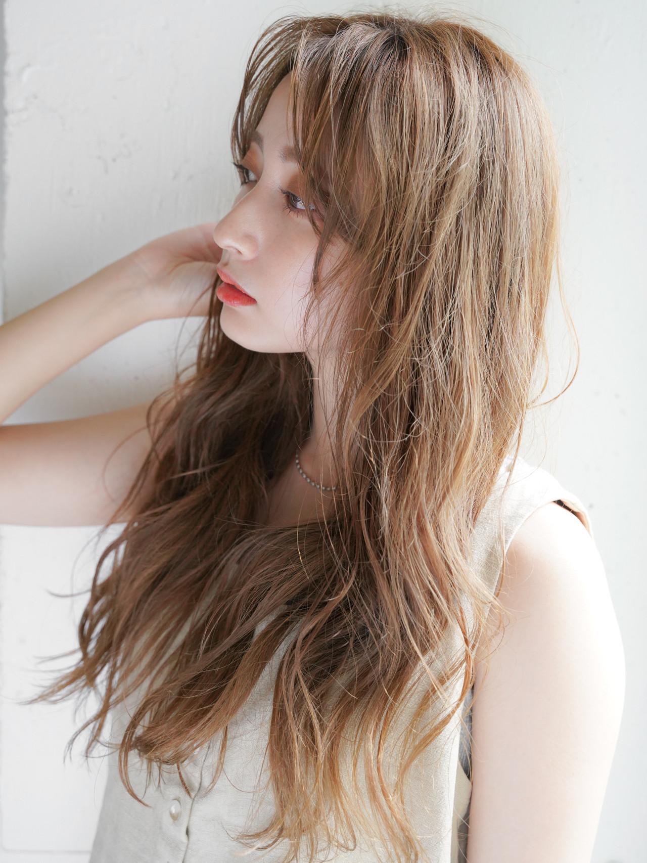 似合わせカット 外国人風カラー ナチュラル 外人風パーマ ヘアスタイルや髪型の写真・画像