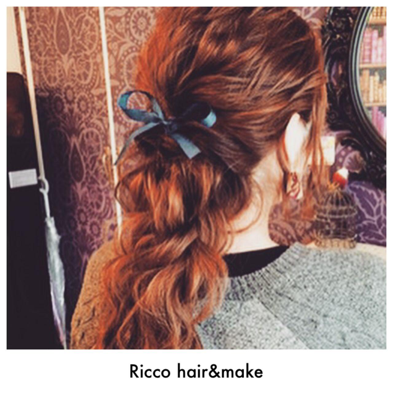 手順付きのヘアアレンジ記事を大特集!! Ricco / hair&make