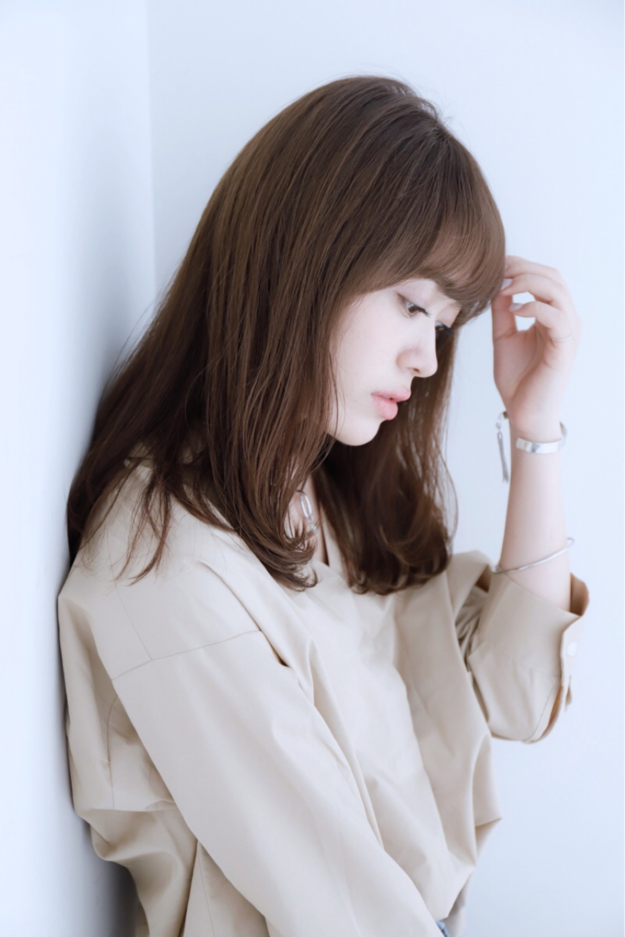 ヘアアレンジ ナチュラル セミロング パーティ ヘアスタイルや髪型の写真・画像 | 熊沢恵斗 / baLon.
