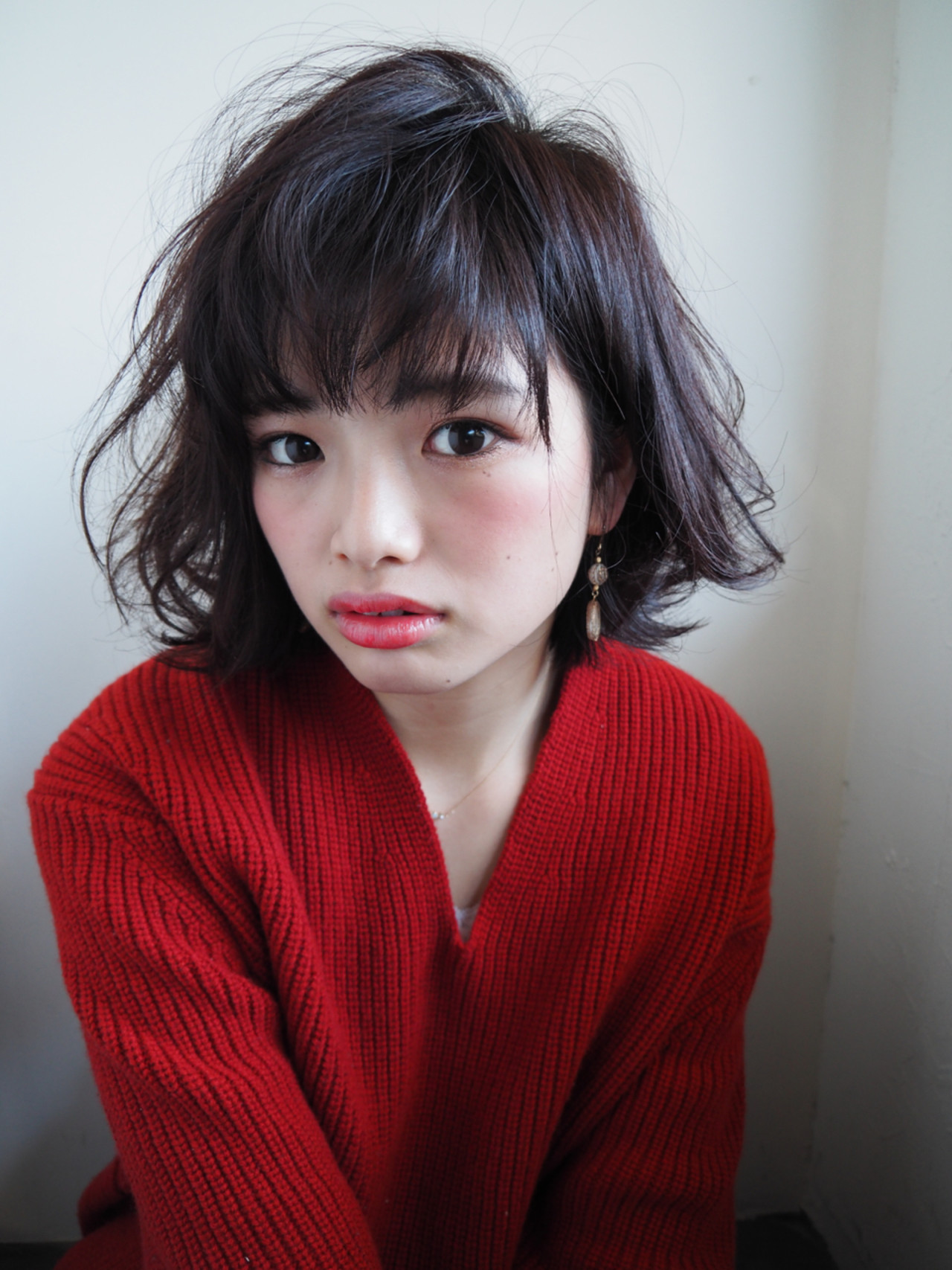 こなれ感 小顔 色気 ボブ ヘアスタイルや髪型の写真・画像 | Keiichi Suzuki/鈴木圭一 / CALVINA&LOWE