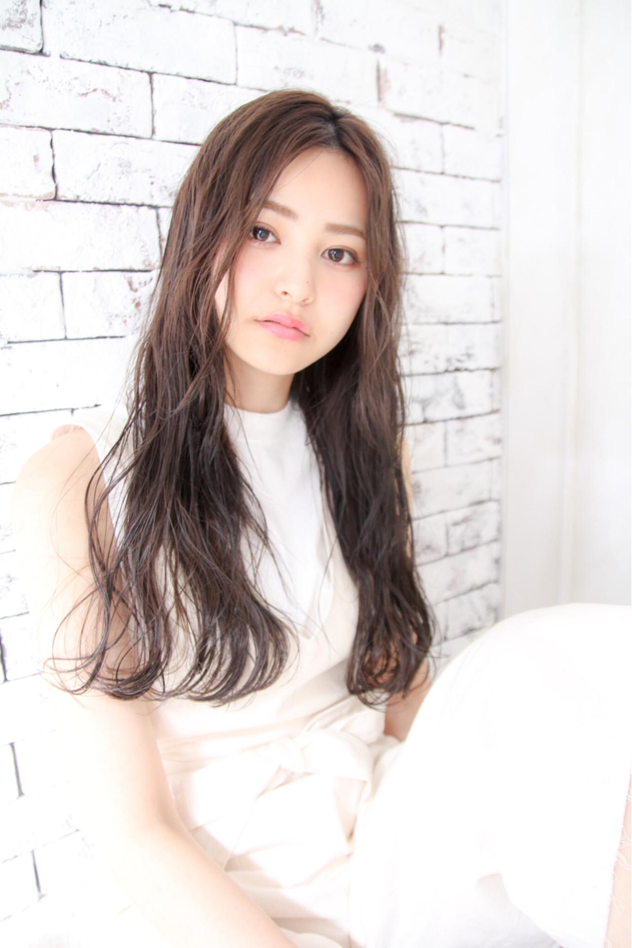 外国人風 アッシュ 前髪あり パーマ ヘアスタイルや髪型の写真・画像 | 川島 ゆり / ROGUE