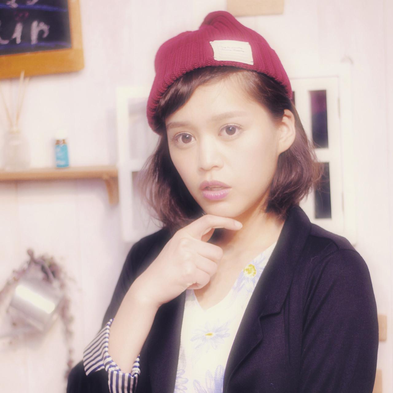 「+1アイテム」で変わる自分。春のニット帽かぶり方講座、始まります。 鈴木☆之武 / LAISSEZ 新松戸店