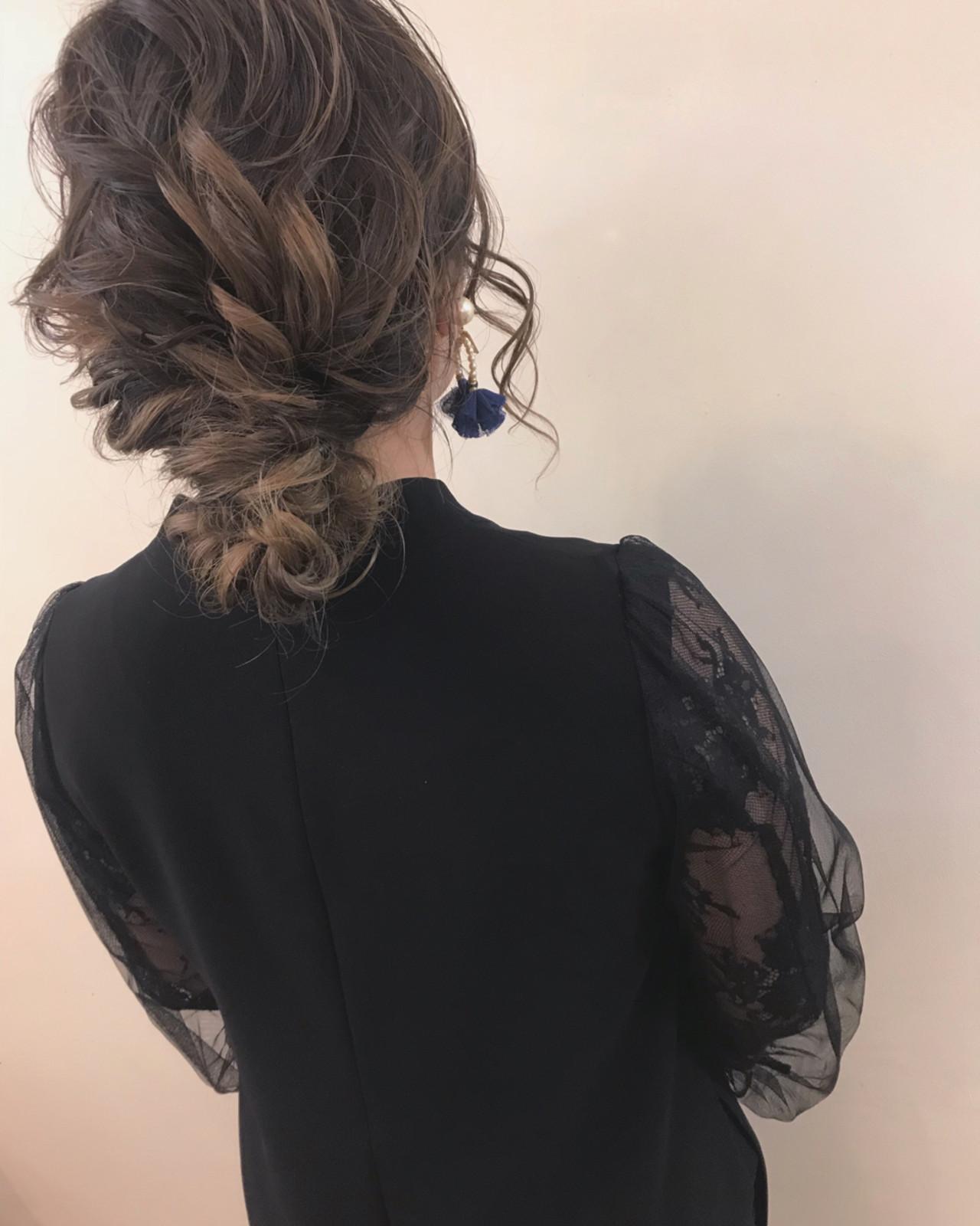 結婚式 ナチュラル ロング 大人かわいい ヘアスタイルや髪型の写真・画像 | yumiko/sapporoSKNOW / SKNOW