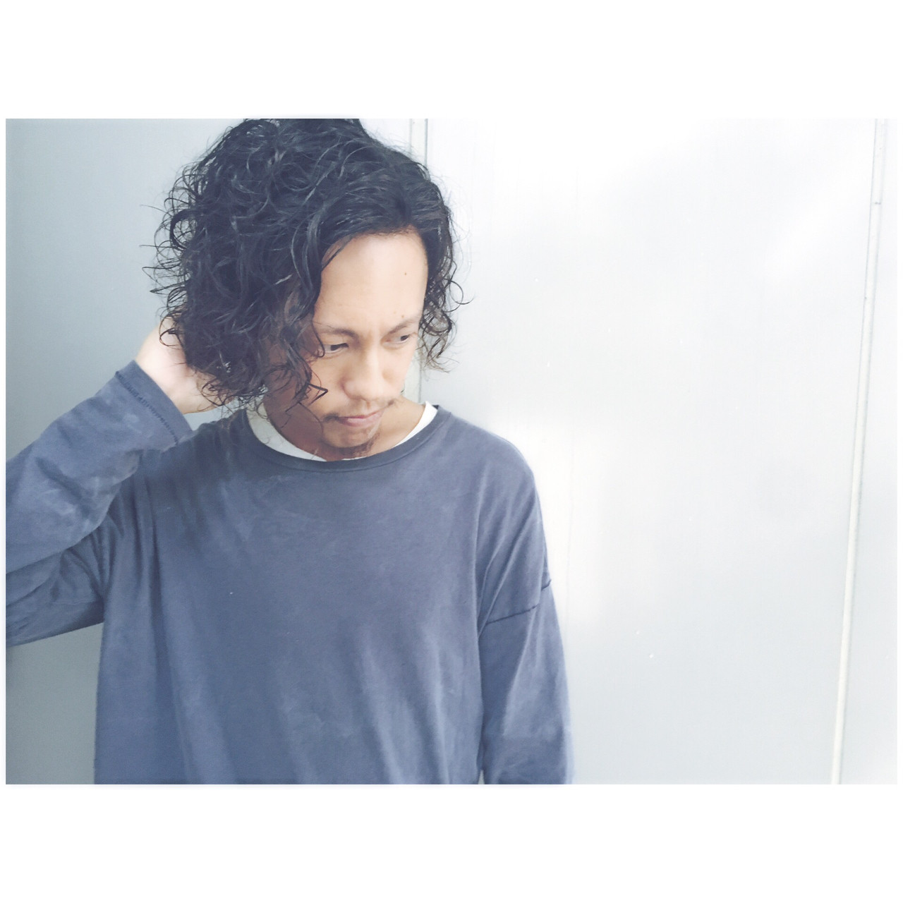 ストリート メンズ パーマ モテ髪 ヘアスタイルや髪型の写真・画像 | 杉本あさか asa / buzz北堀江