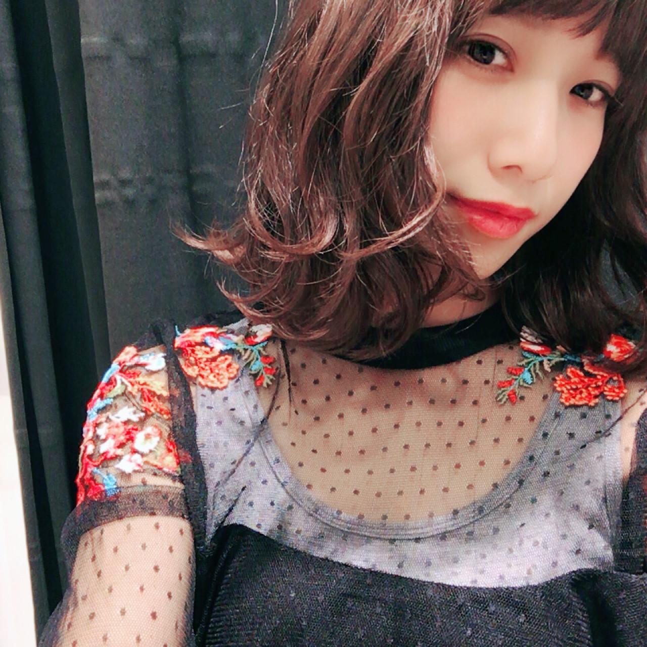 こなれ感 外国人風 大人女子 ミディアム ヘアスタイルや髪型の写真・画像   Miki /