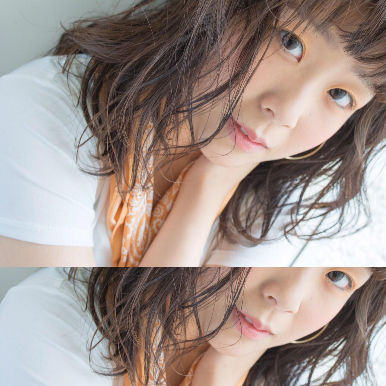 湿度ある色気が需要アリ♡夏を乗り越えるパーマ×ウェットスタイル。 chiaki / magnet hair