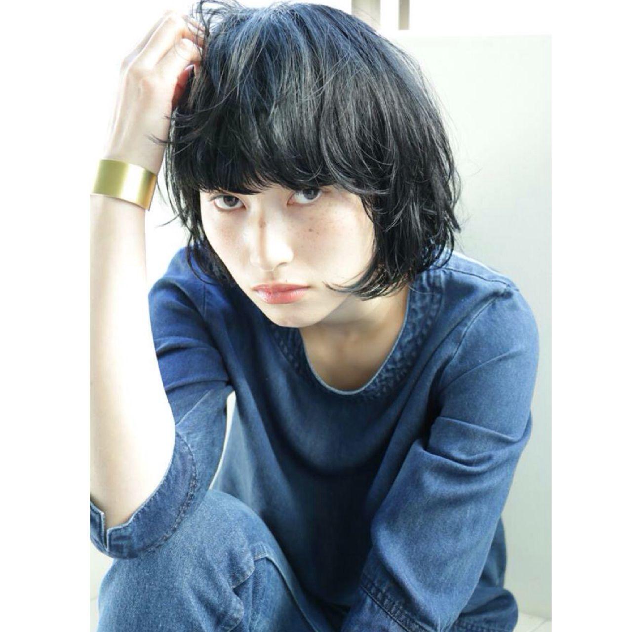ウェット感を味方にすれば、ショートカットだって女性らしいヘアスタイルに大変身! 高橋 忍 / nanuk shibuya