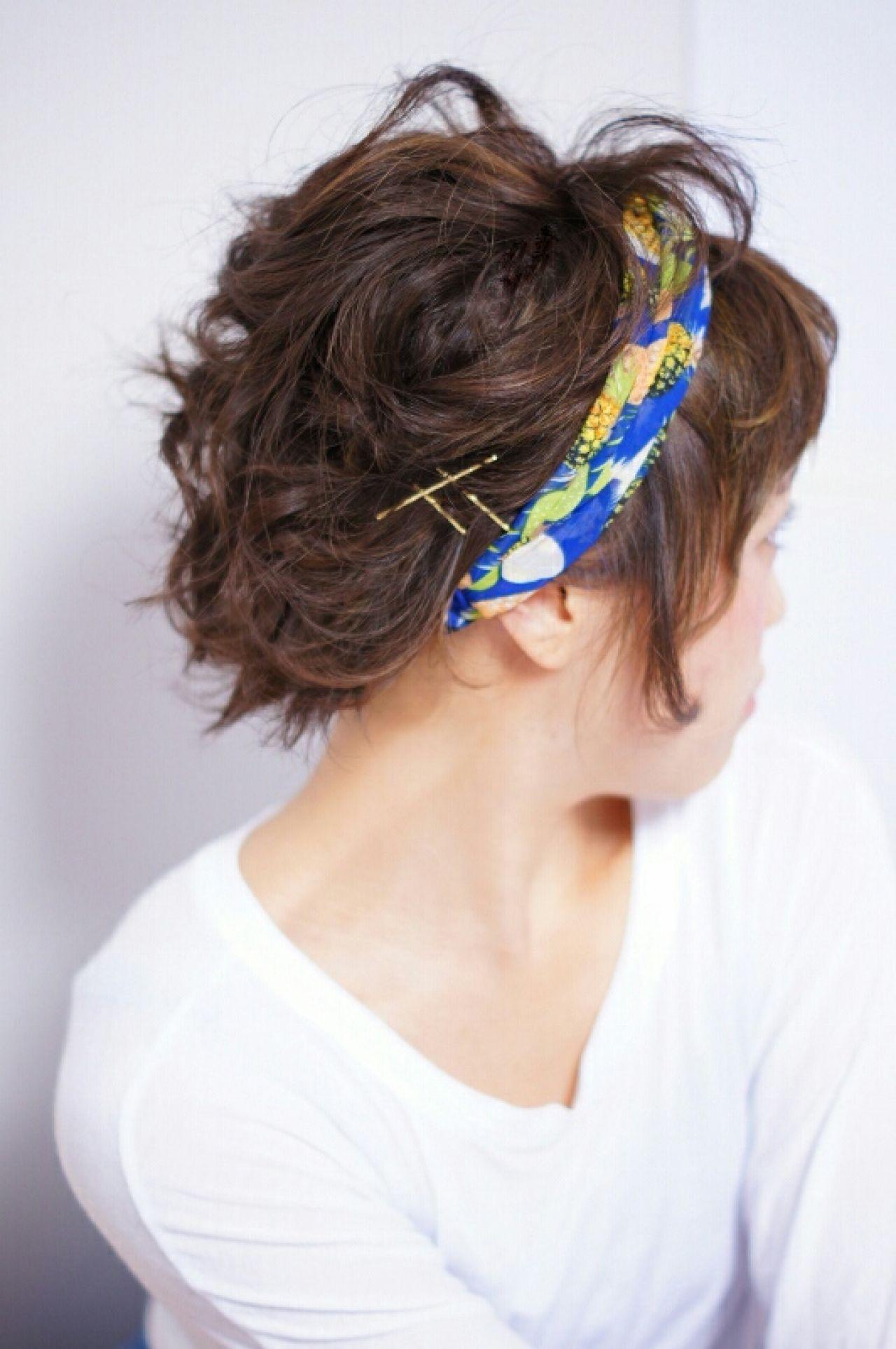 抜け感 ストリート 簡単ヘアアレンジ ヘアアクセヘアスタイルや髪型の写真・画像