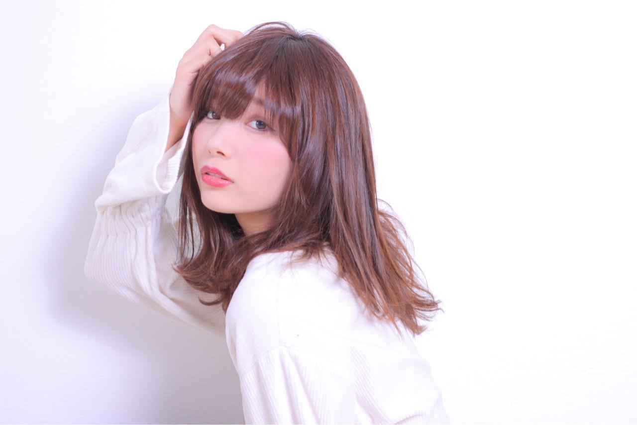 モテ髪 ナチュラル かわいい 大人かわいい ヘアスタイルや髪型の写真・画像 | Masayuki Seto / PROS:旭商店街店