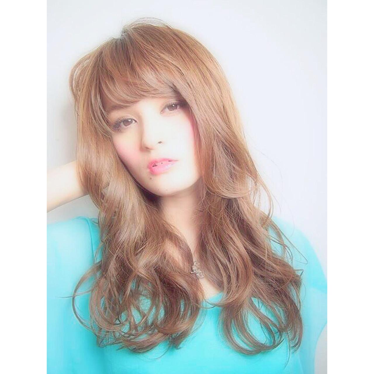 ヌーディベージュ 外国人風 コンサバ フェミニン ヘアスタイルや髪型の写真・画像 | 日下部 拓也/Lien / Lien