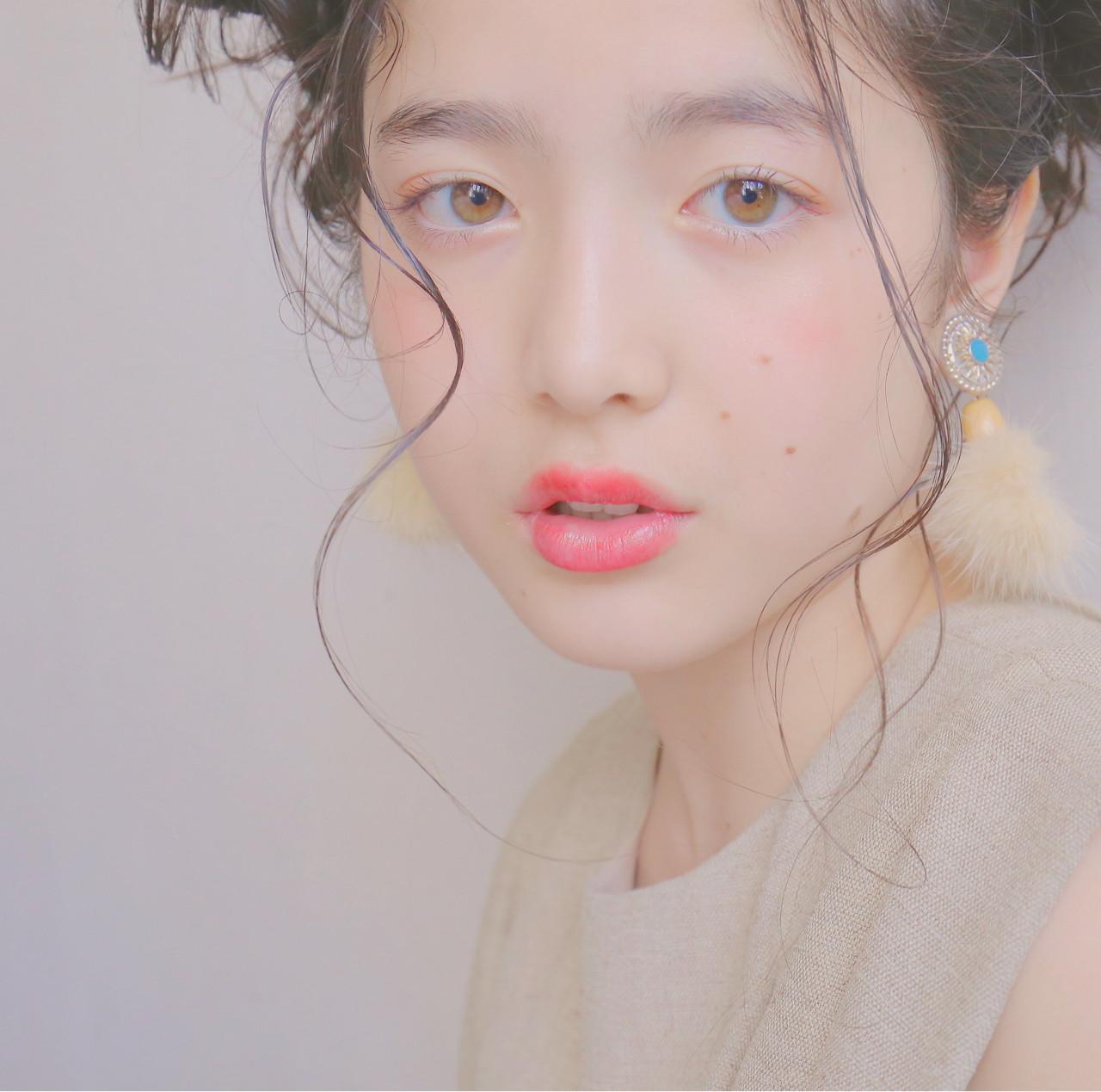 ショート 外国人風 モテ髪 ロング ヘアスタイルや髪型の写真・画像 | 米澤香央里 / SYAN