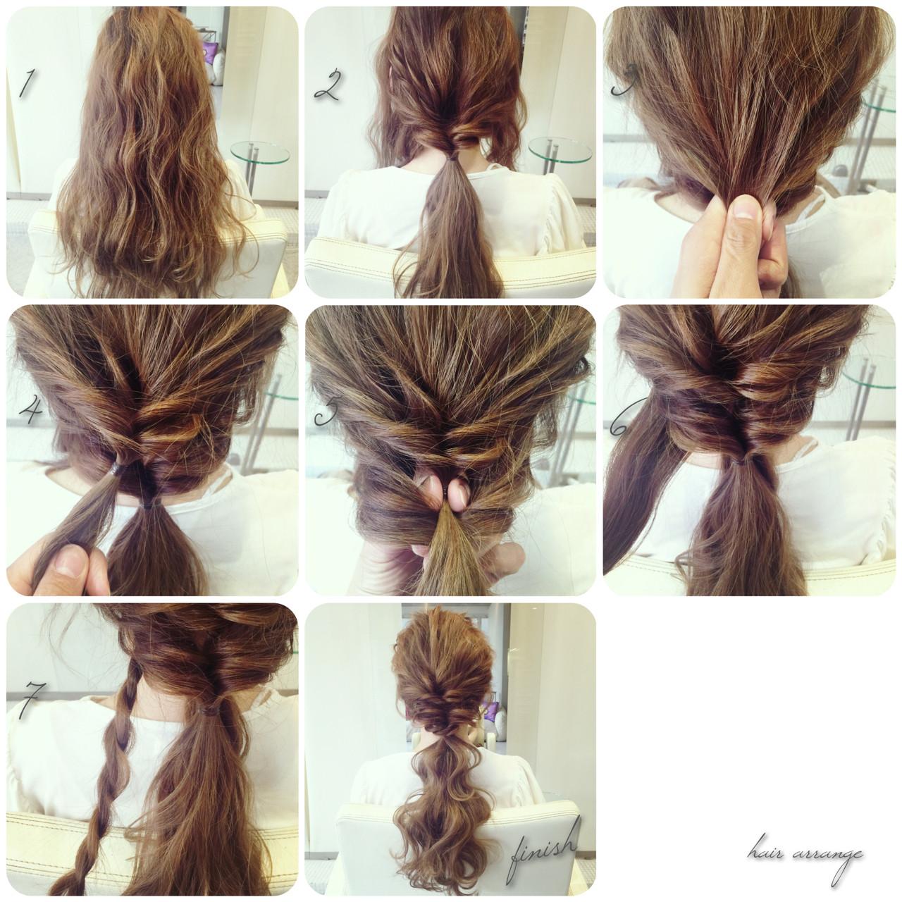 ヘアアクセ 大人かわいい ヘアアレンジ ロングヘアスタイルや髪型の写真・画像