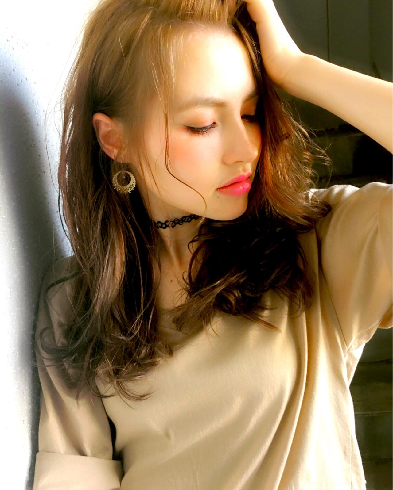 ストリート グラデーションカラー アッシュ 大人かわいい ヘアスタイルや髪型の写真・画像   浜田敦史 / Tiffa栄