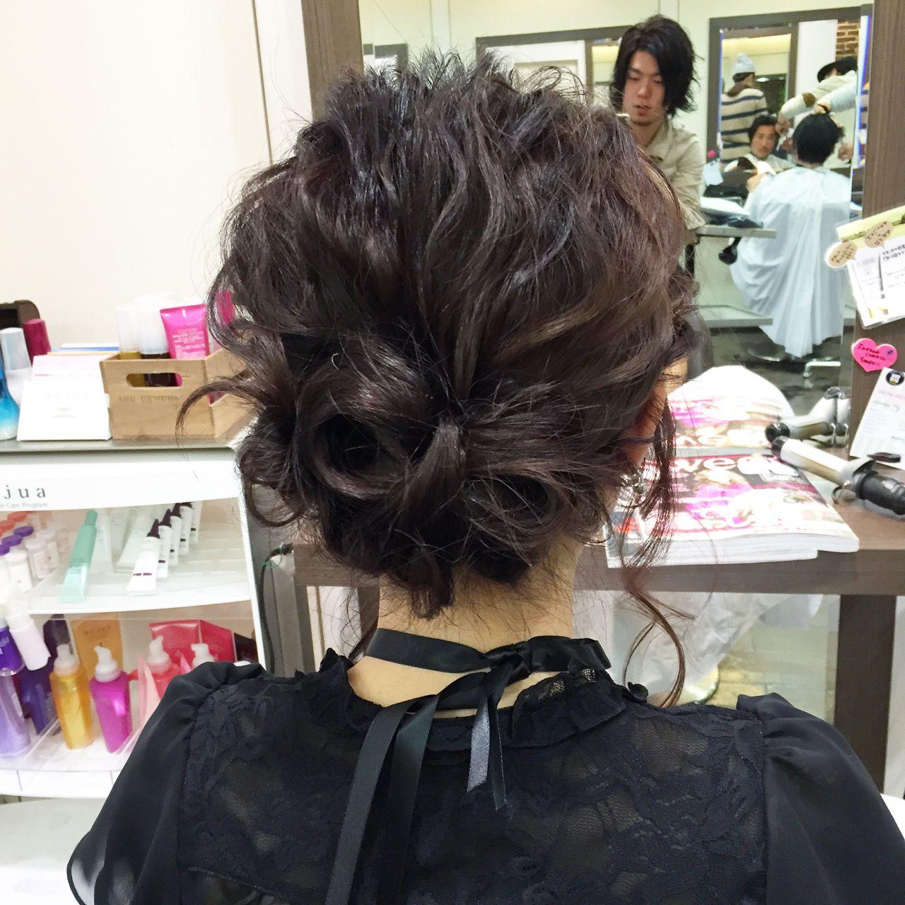 コンサバ ショート ヘアアレンジ 結婚式 ヘアスタイルや髪型の写真・画像 | 木村 達沖 / Lacisa