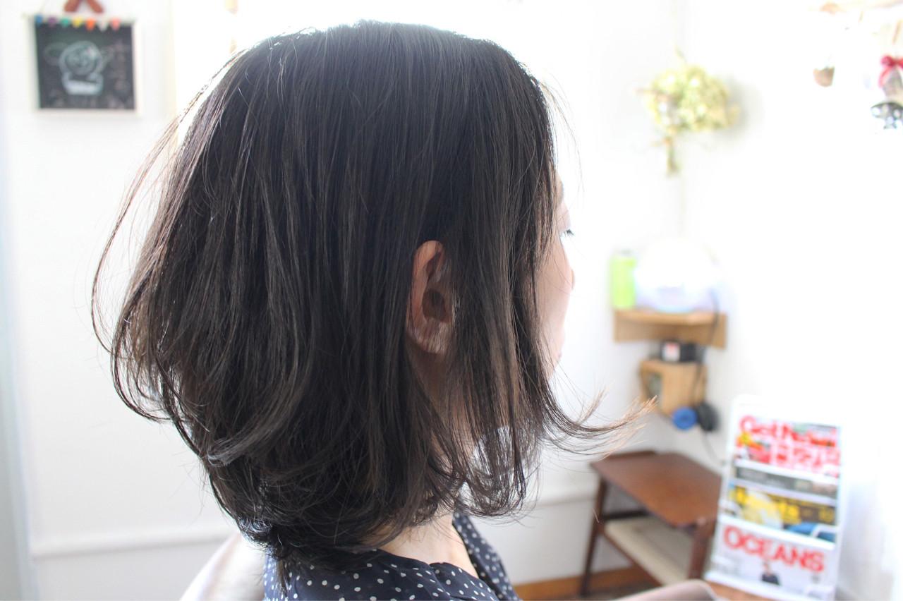 ヘアアレンジ 色気 パーマ 黒髪 ヘアスタイルや髪型の写真・画像 | creap / creap