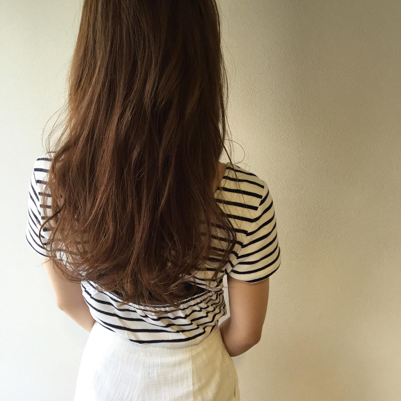外国人風 アッシュ ハイライト ロング ヘアスタイルや髪型の写真・画像 | 矢井 一輝 / Rr. hair salon Nagoya