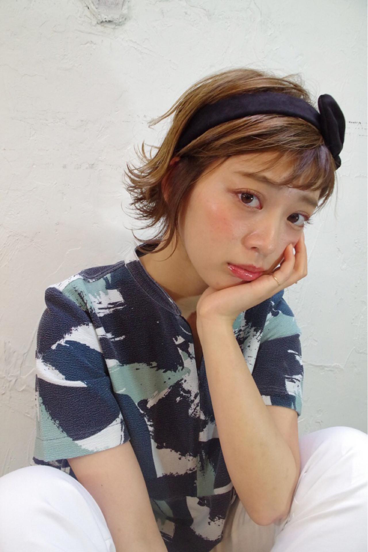ゆるふわ アッシュ ハイライト ピュア ヘアスタイルや髪型の写真・画像 | Nao Kokubun blast / blast