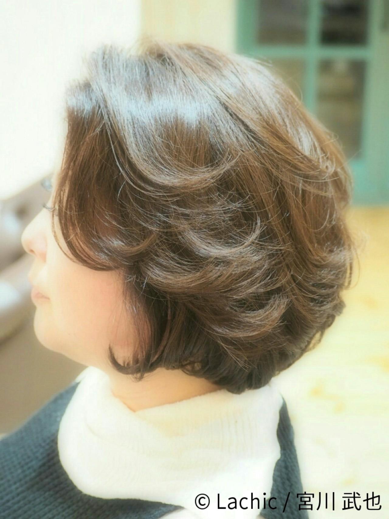 50代のためのヘアスタイル特集。気を付けたいポイントまとめ Lachic / 宮川 武也