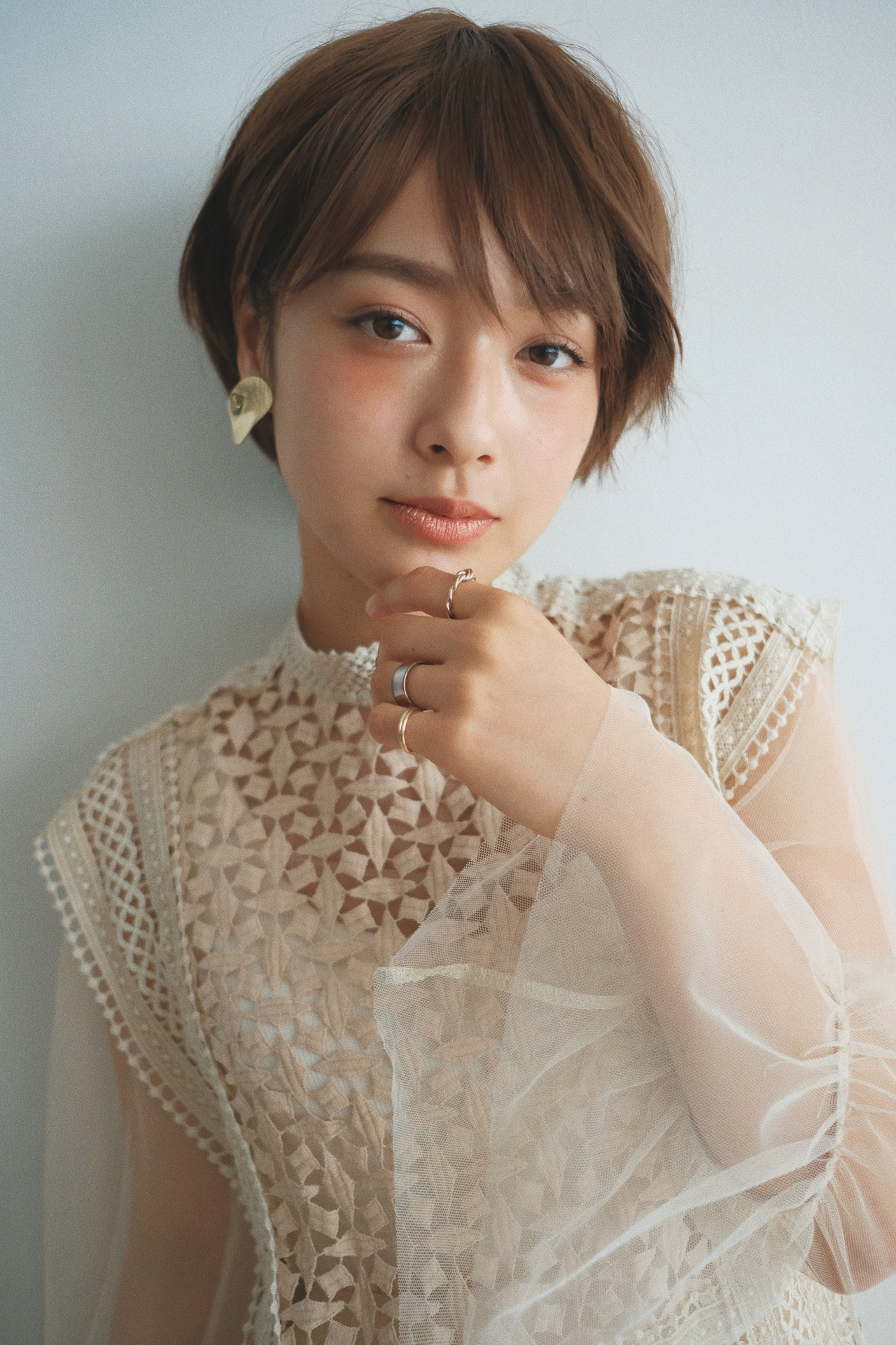 スポーツ ショート デート 結婚式 ヘアスタイルや髪型の写真・画像   YUJI / LIICHI / LIICHI (リイチ)