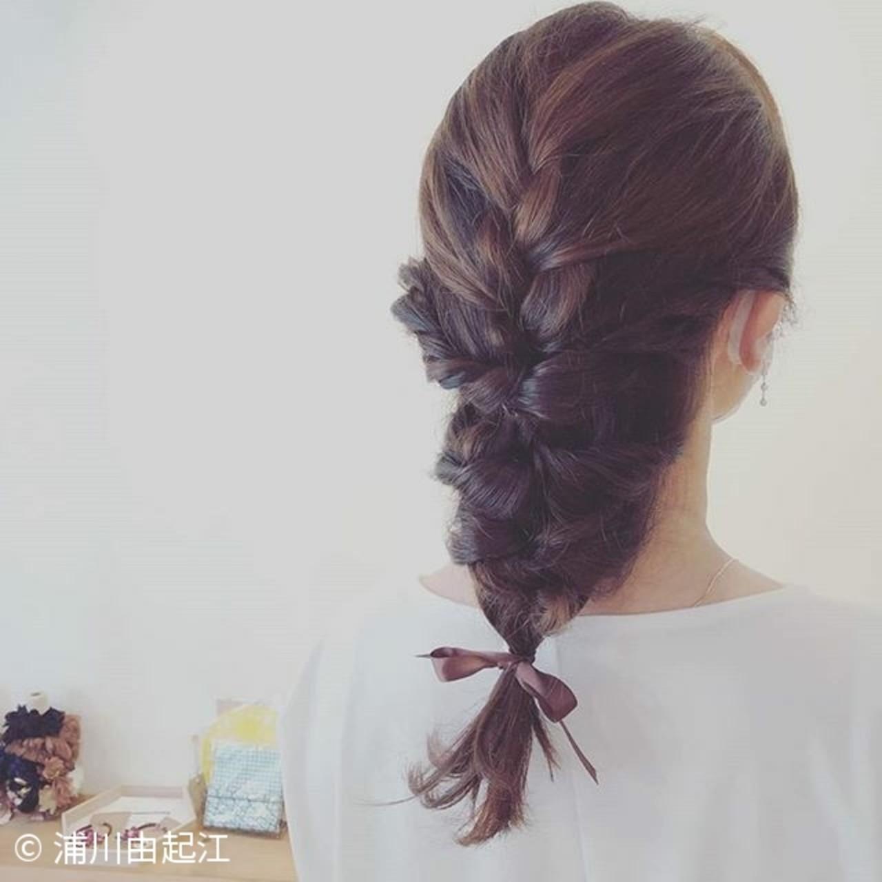 デート ヘアアレンジ ロング モテ髪ヘアスタイルや髪型の写真・画像