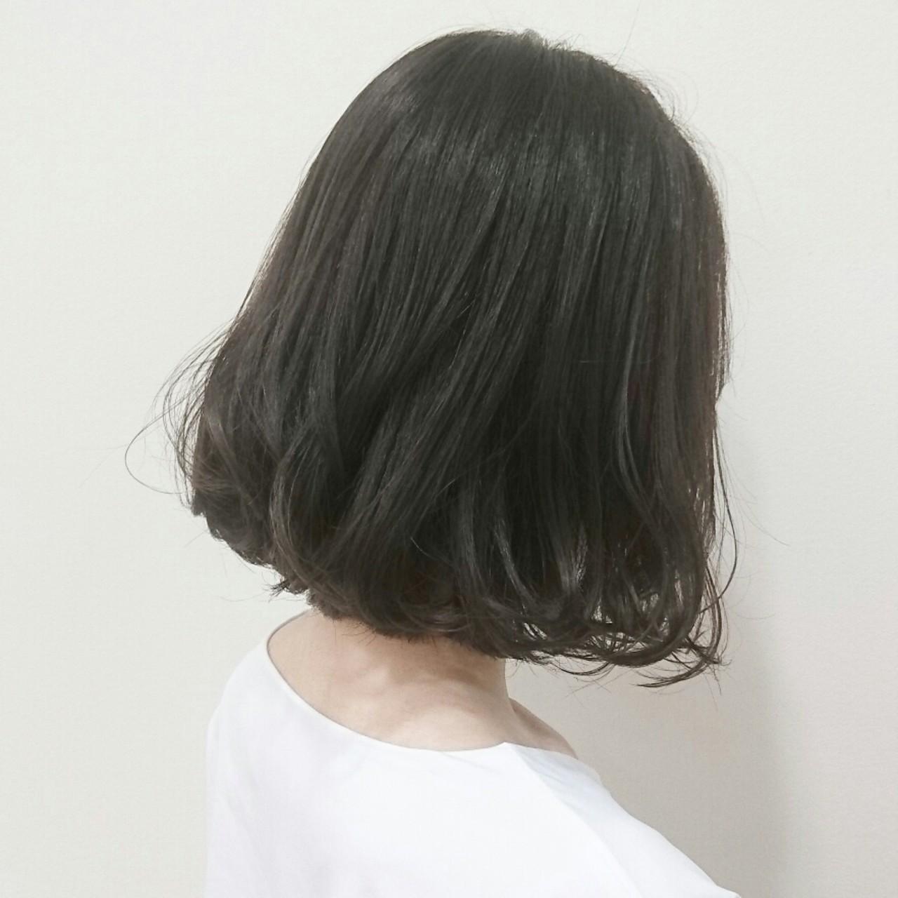 大人かわいい 透明感 デート イルミナカラーヘアスタイルや髪型の写真・画像